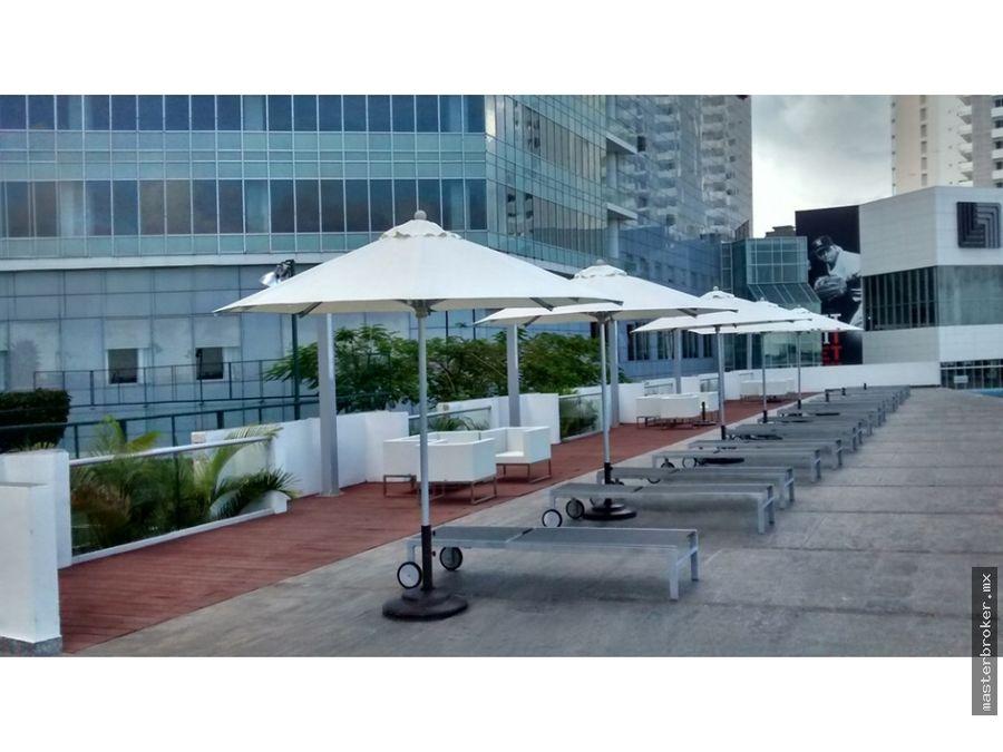 rento departamento malecon americas cancun cerca el table