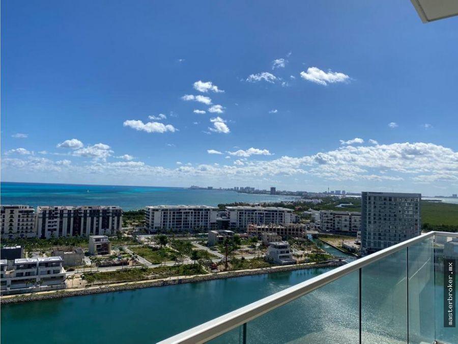 departamento puerto cancun salida al mar amenidades seguridad gym