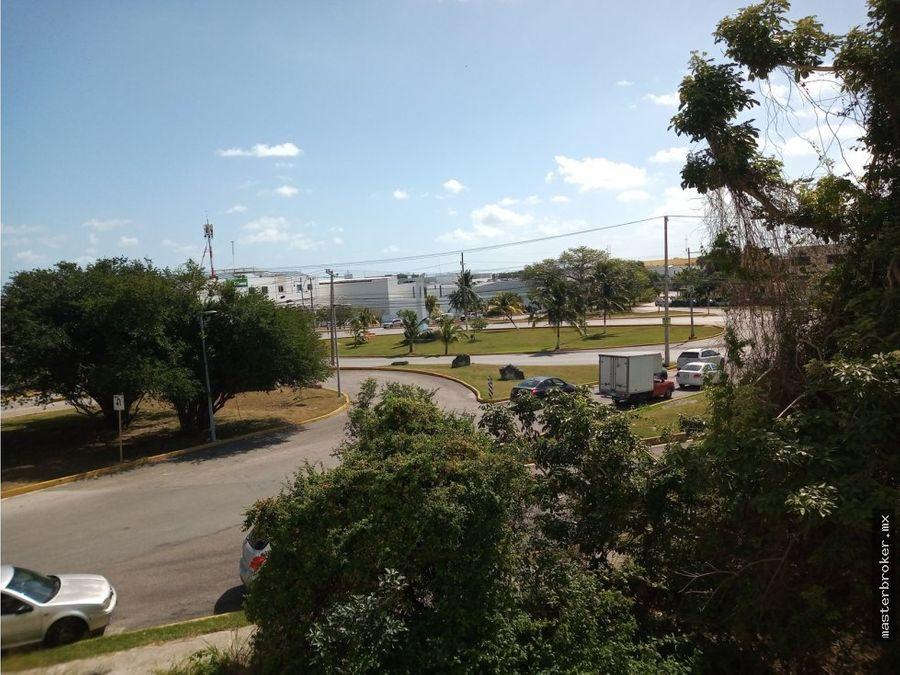 venta departamento centro cancun cerca malecon tajamar y hotel ibis