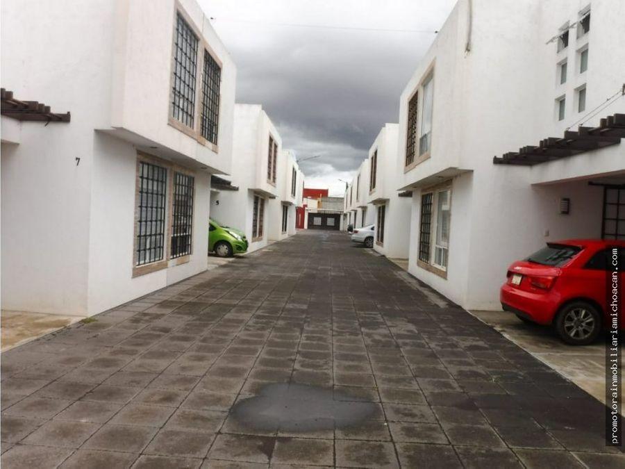 casa en hacienda la trinidad morelia
