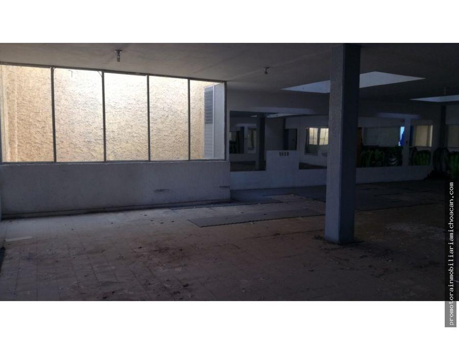 edificio en renta calle cuautla centro de morelia