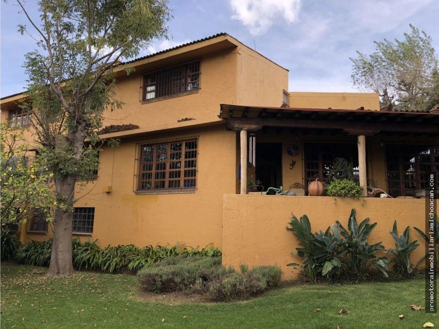 residencia colonial mexicano en vista bella morelia