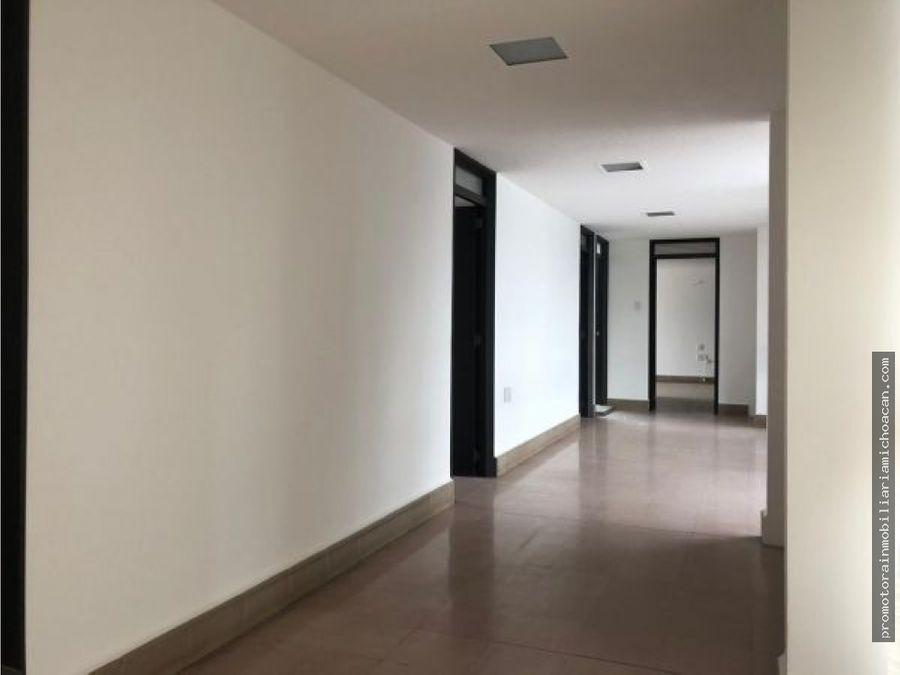 casa en renta oficinas consultorios chapultepec norte morelia