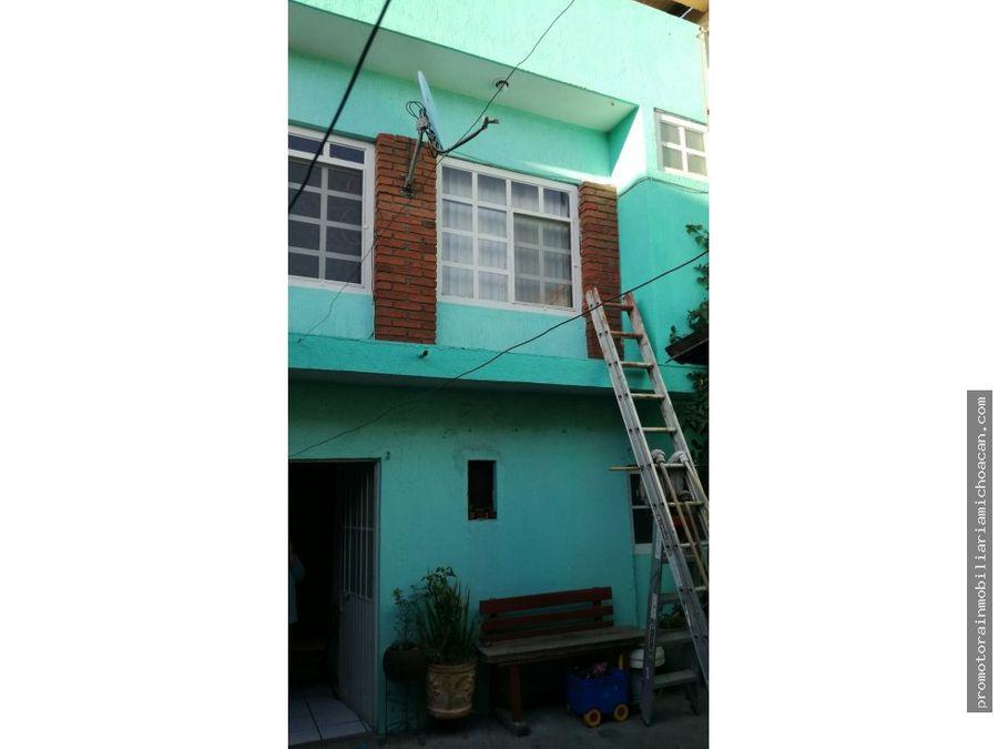 casa con departamento colonia guadalupe morelia