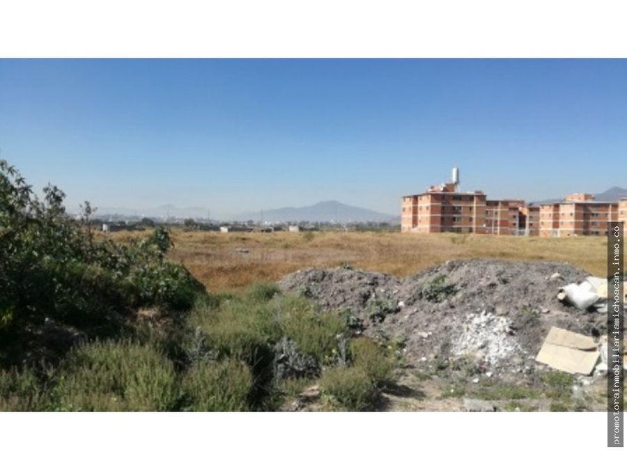 terreno 5 hectareas desarrollo habitacional morelia