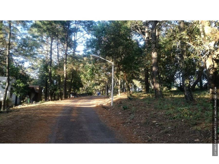 terreno campestre en residencial bosques paraiso cerca de morelia