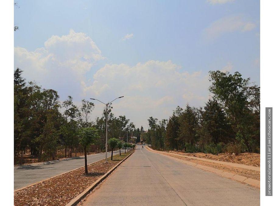 terreno residencial en bosques la presa morelia