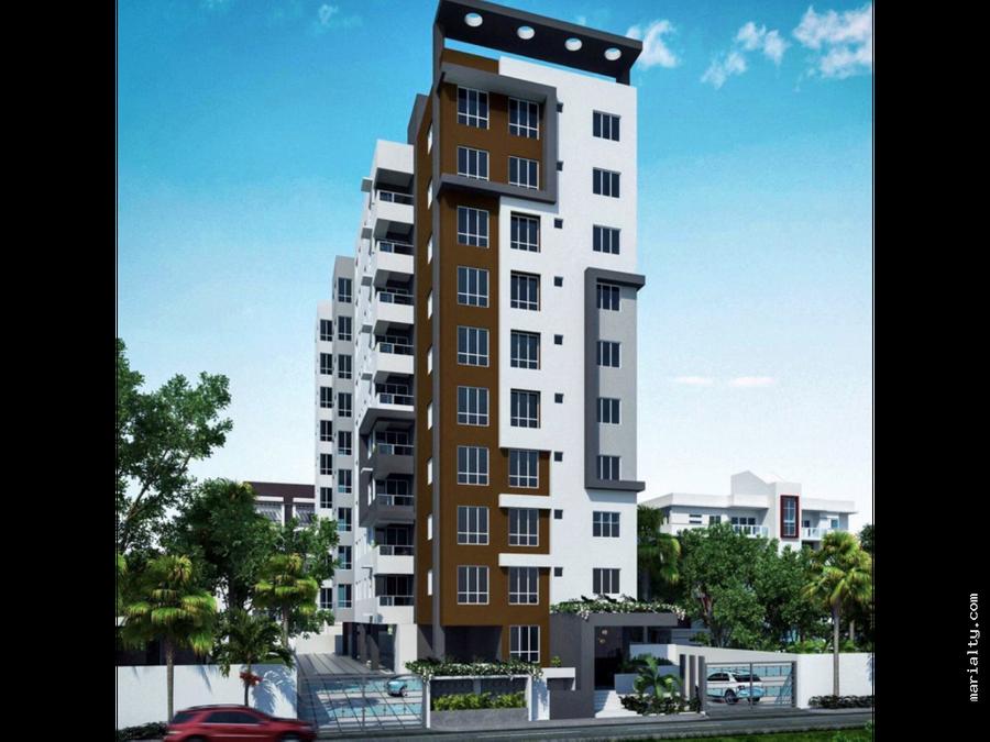 se vende moderno apartamento de 2 habitaciones en la esperilla