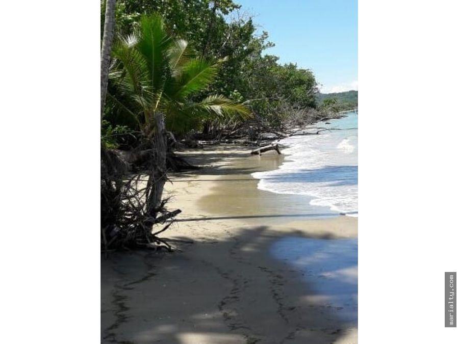 se vende terreno de playa de 193720 metros en rio san juan