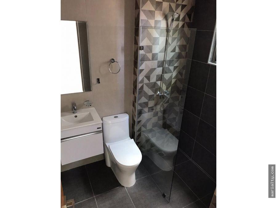 se vende apartamento de 3 habitaciones con banos y wc en bella vista