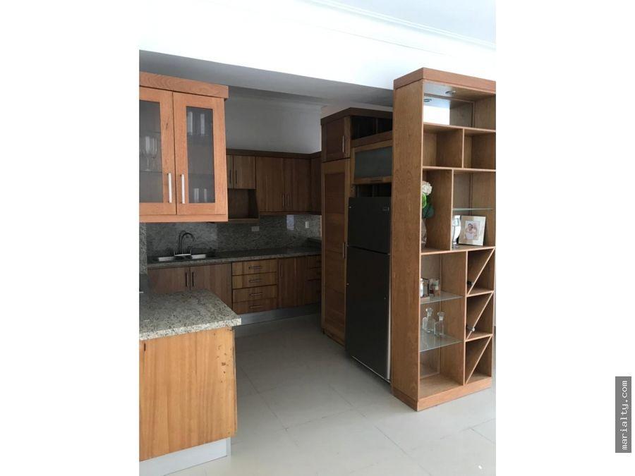 se vende y alquila apartamento de 3 habitaciones en naco