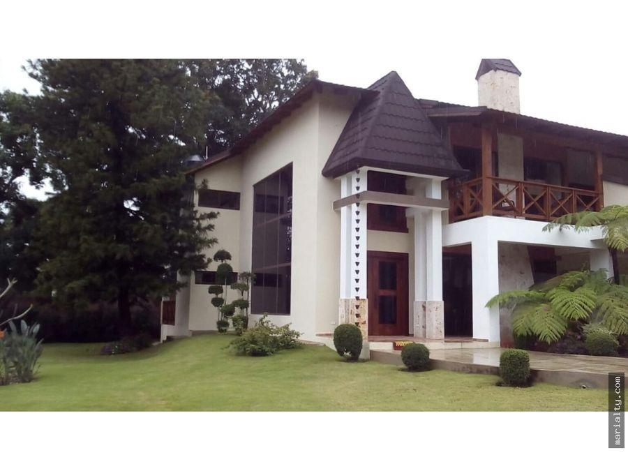 hermosa casa en venta hato viejo jarabacoa