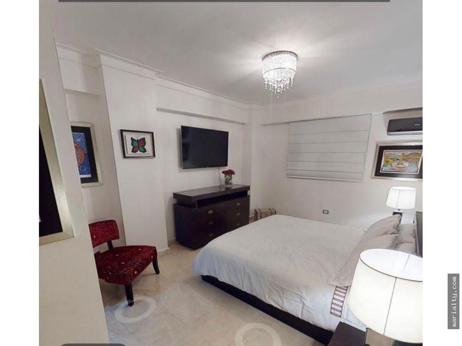 se vende apartamento de 3 habitaciones en naco