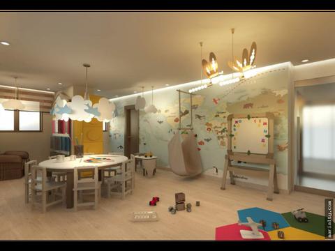se vende apartamento moderno de 3 habitaciones en la esperilla