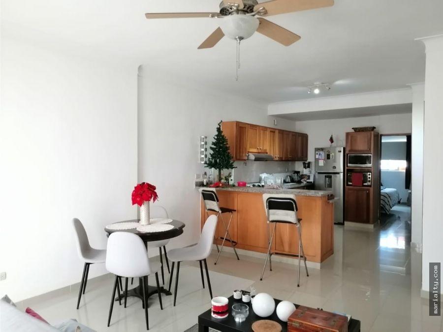 se vende apartamento de 1 habitacion en el quisqueya