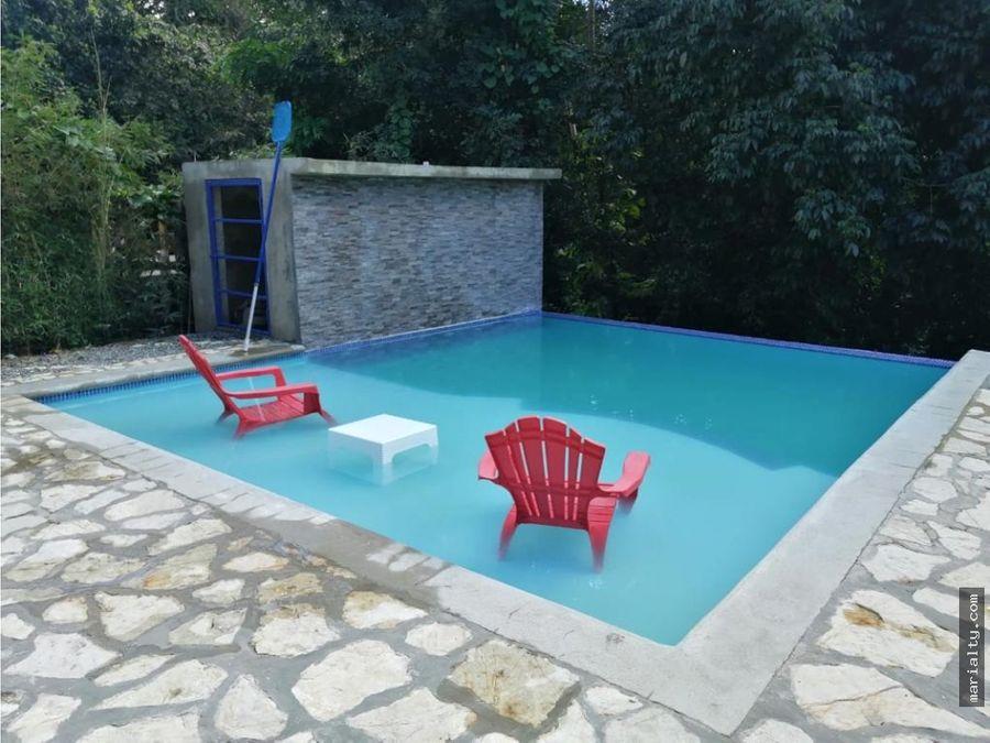 se vende hermosa villa de 5 habitaciones en jarabacoa