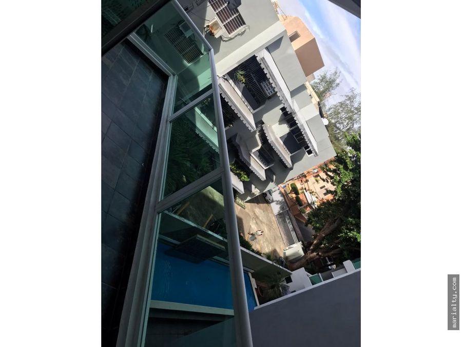 se vende moderno apartamento de 3 habitaciones en gazcue