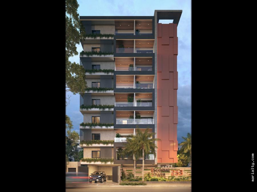 moderno apartamento en gazcue