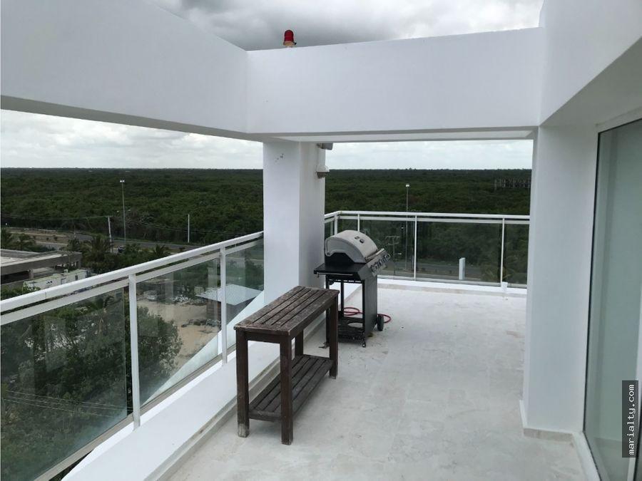 se vende hermoso penthouse de 4 habitaciones en juan dolio