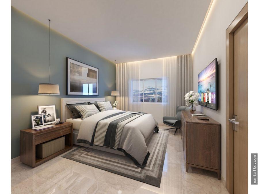 moderno apartamento de 2 habitaciones en evaristo morales