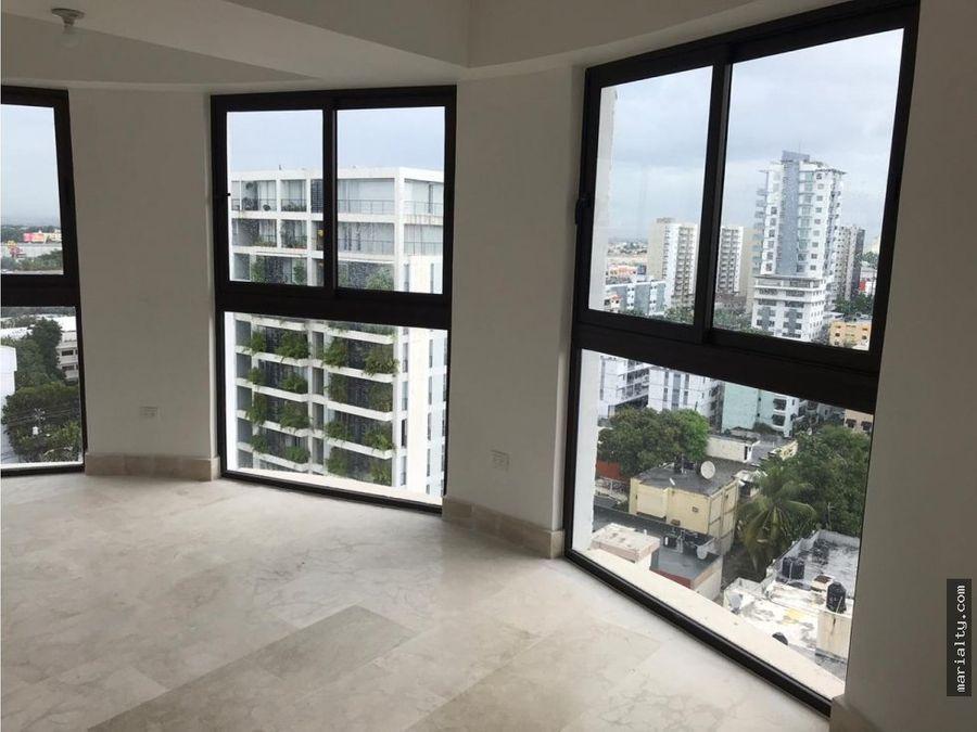 se vende apartamento de 2 habitaciones en piantini