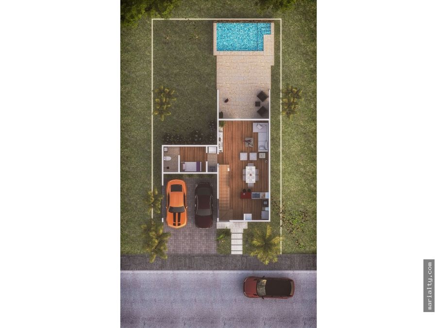 se vende villa de 3 habitaciones en punta cana