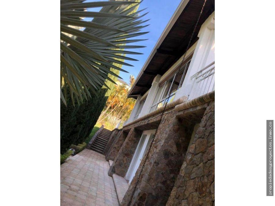 vendo casa campestre en el poblado