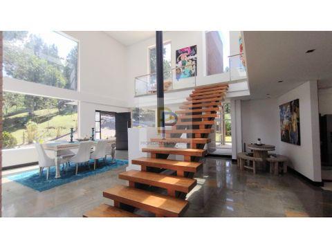 casa campestre en venta en envigado
