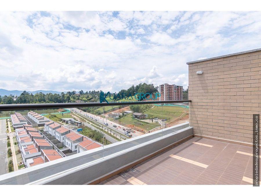 arriendo apartamento duplex penhouse con terraza ultimo piso rionegro
