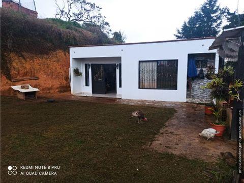 casa campestre en sector vereda santa barbara rionegro