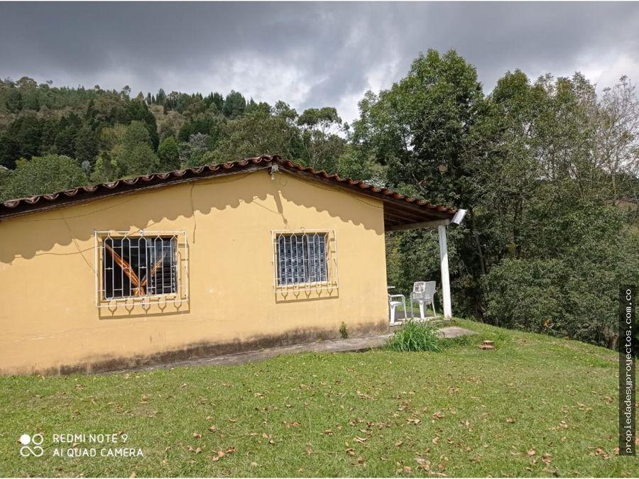 casa campestre para venta en guarne