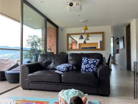 apartamento en venta en el poblado sector cola del zorro