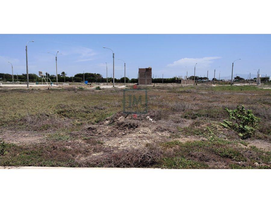 venta de terreno de 105 m2 en urbla rinconada de pimentel