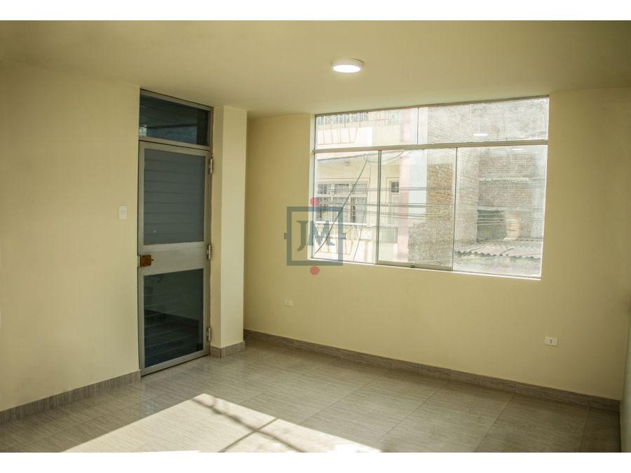 departamento en venta 20 piso centro de chiclayo