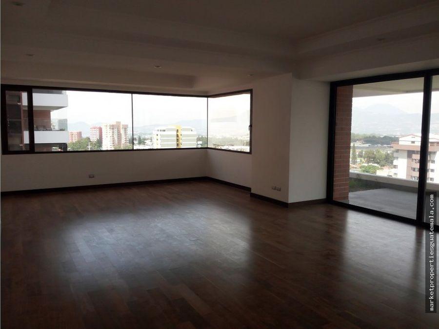 noguchi apartamento en venta zona 14 para estrenar