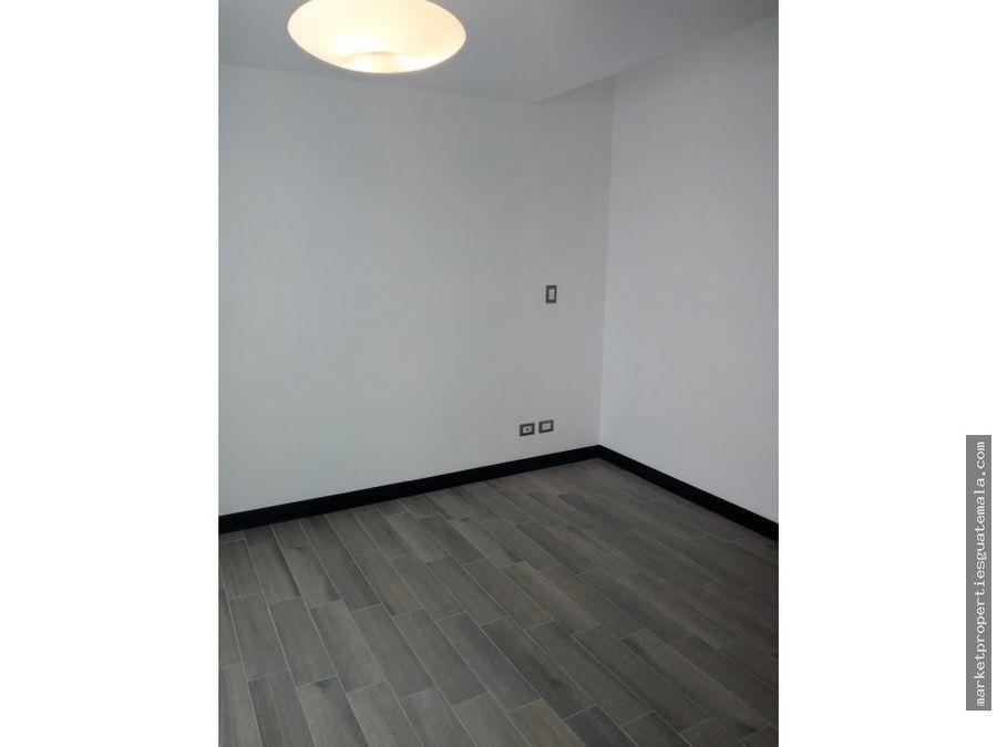 apartamento en renta zona 16 san isidro 2021