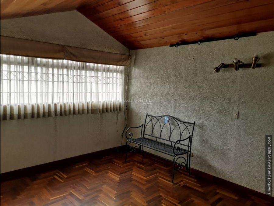 casa en venta en zona 15 vista hermosa ii