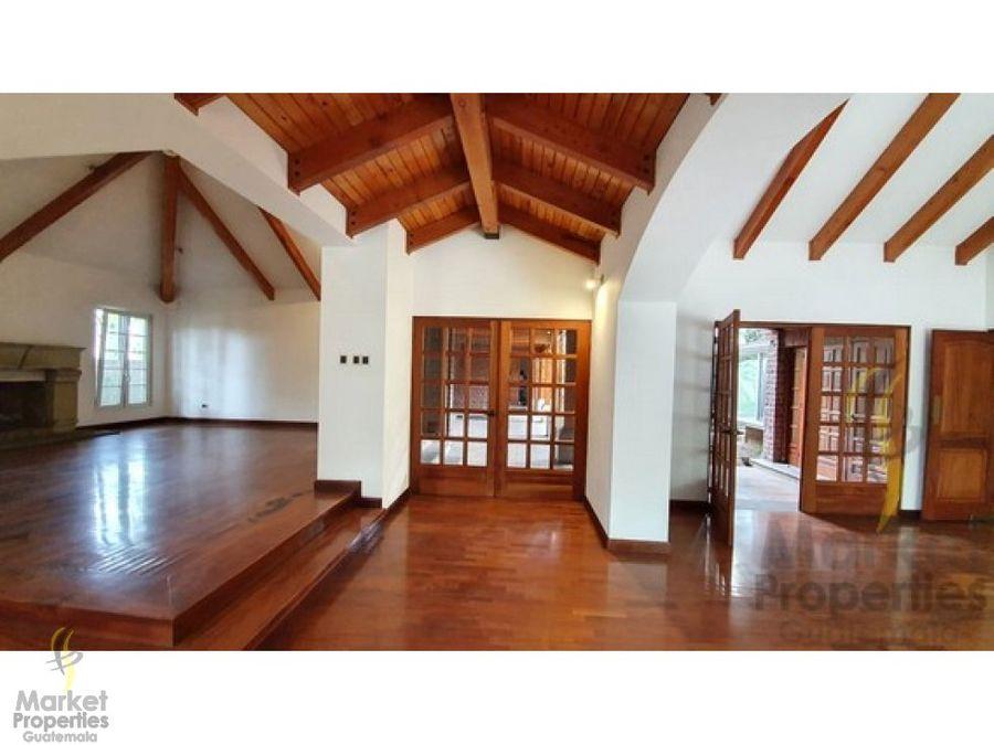 casa en alquiler buganvilias de cayala zona 16