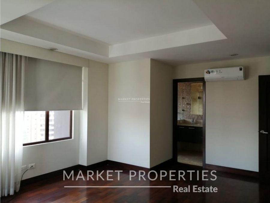renta de apartamento con acabados modernos en zona 14