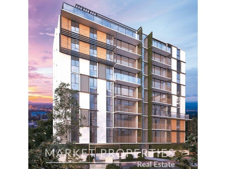 apartamento moderno en venta en zona 14 be14