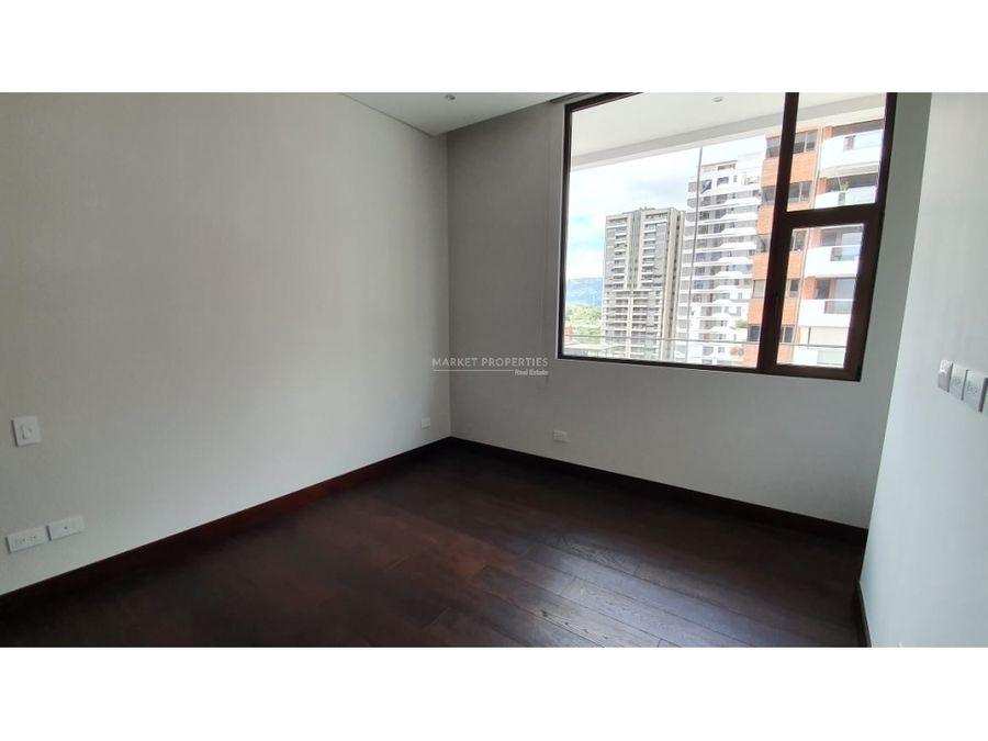 apartamento en renta en zona 14 edificio echo