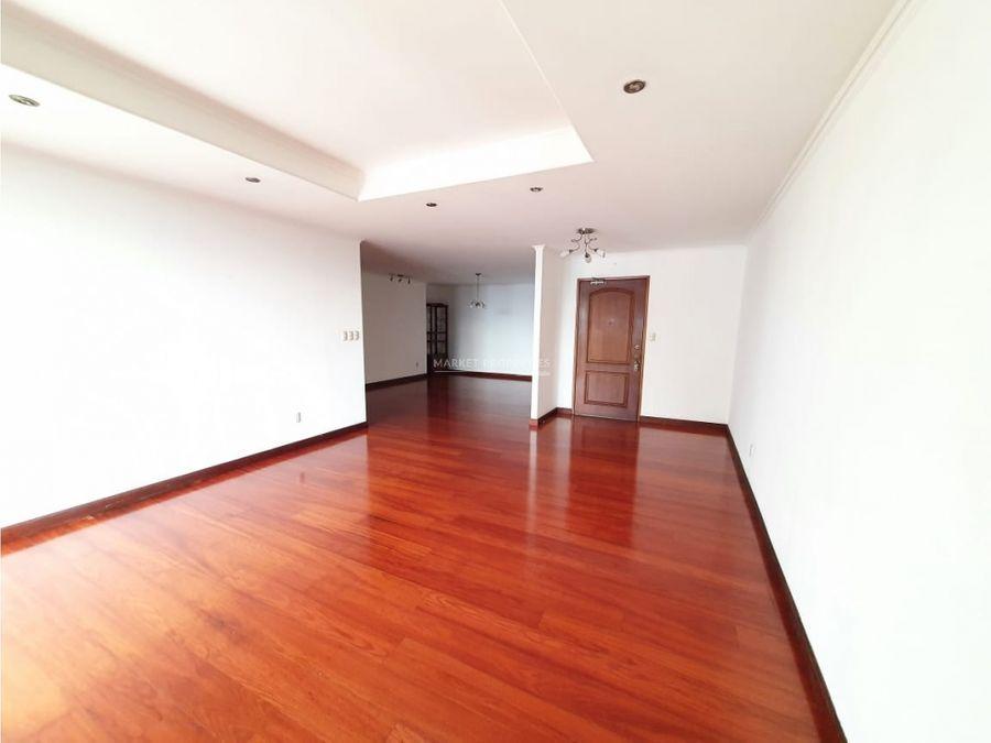 apartamento en alquiler en zona 14 bellagio