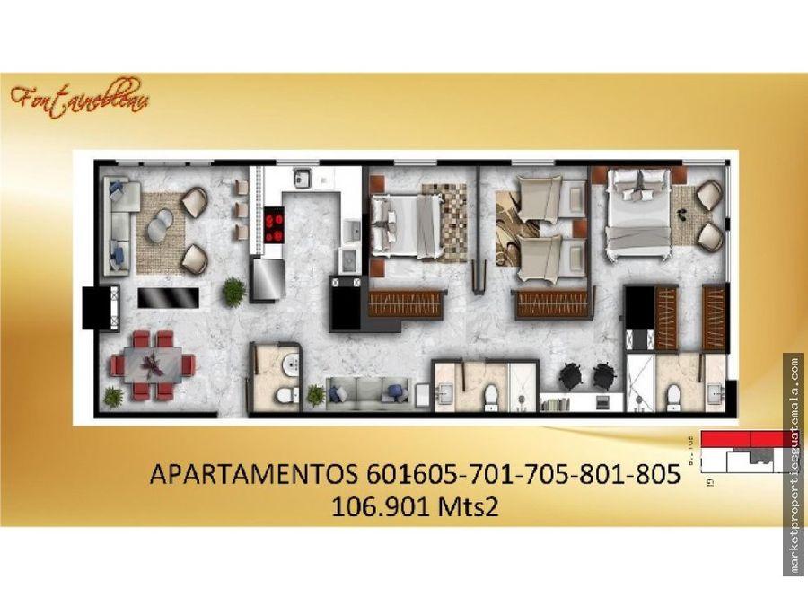 venta de apartamentos vh1 zona 15