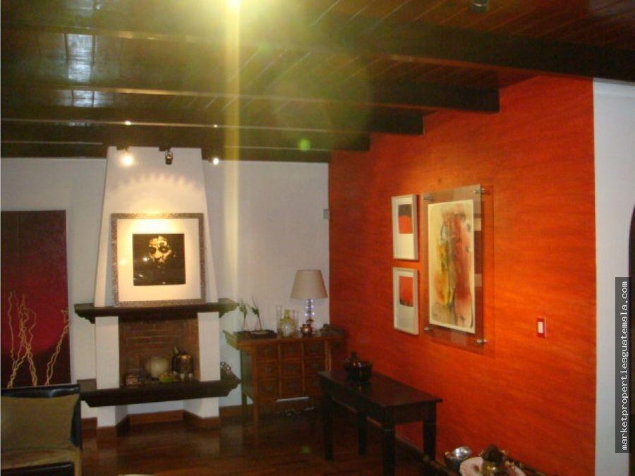 casa en alquiler zona 14 guatemala las conchas