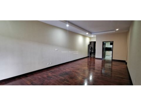 apartamento en venta zona 10 primer nivel
