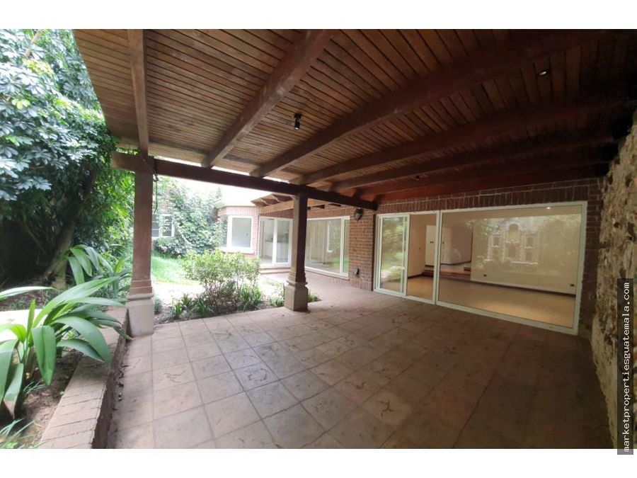 casa en alquiler en zona 16 bouganvilias cayala