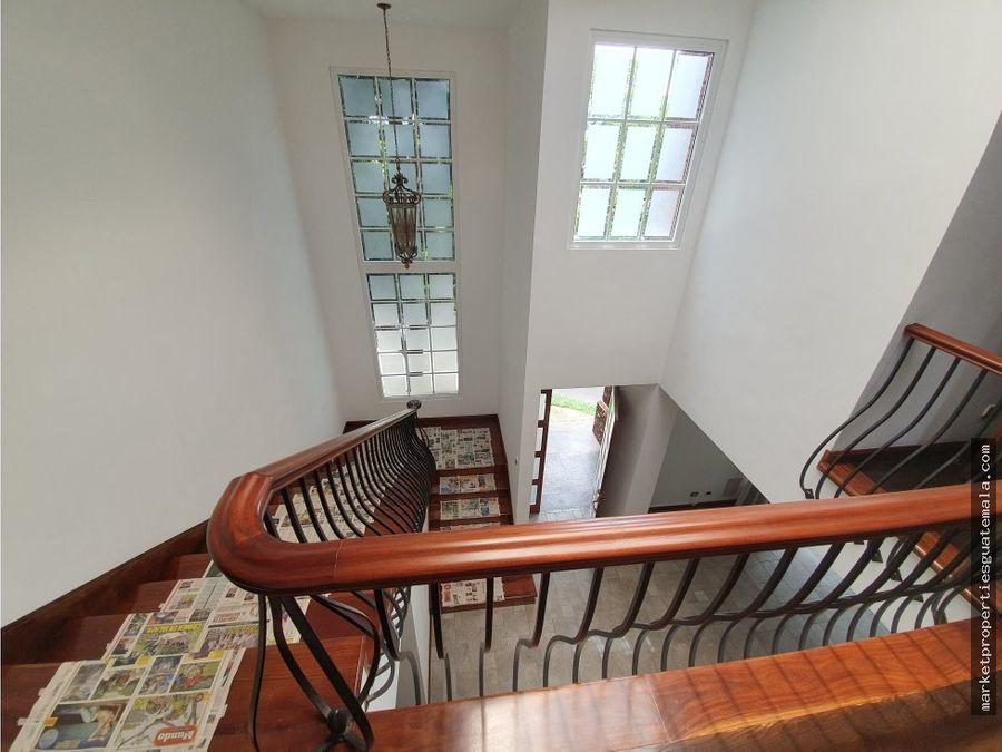 casa en venta zona 16 frente cayala guatemala