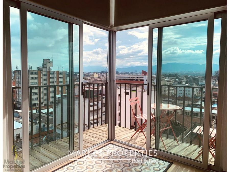 apartamento en venta zona 1 centro vivo