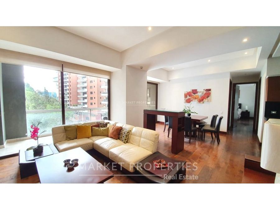 apartamento en renta en zona 14 tiffany 5ta avenida