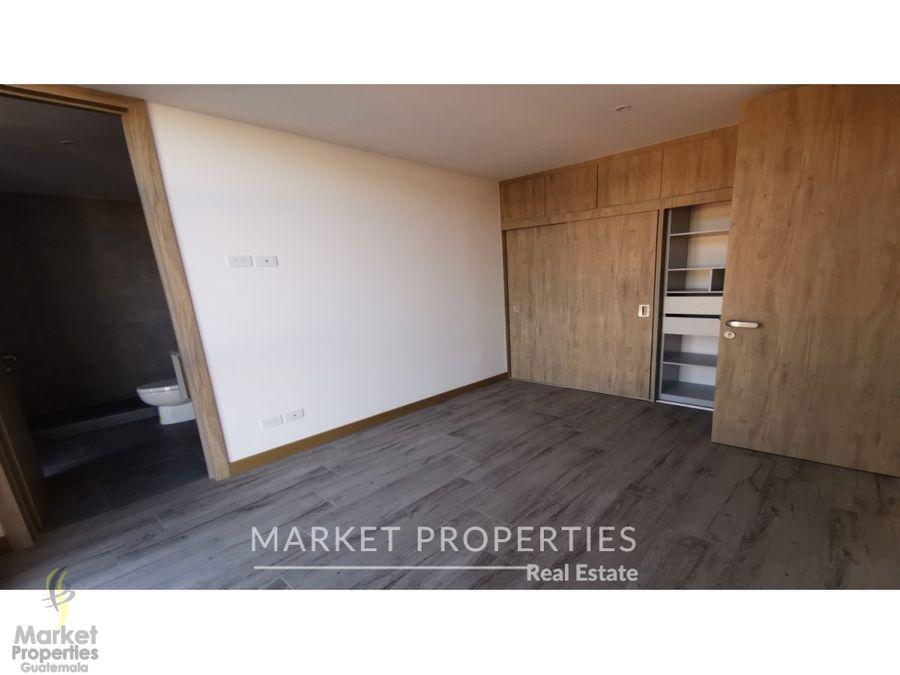 apartamento en renta en zona 16 nordic
